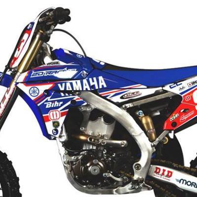 Déco: Kit Déco Yamaha Replica DUMONTIER 2015