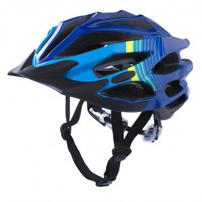 Casque Vélo Kenny Furtif Bleu / Jaune Fluo