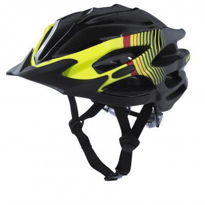 Casque Vélo Kenny Furtif Noir / Jaune Fluo