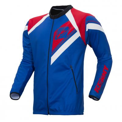 Casaque Zippée Enduro Kenny Bleu / Rouge