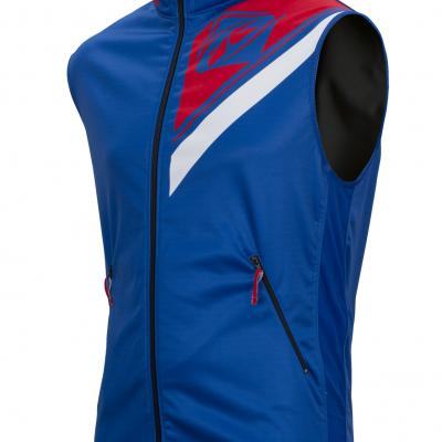 Body Warmer Enduro Kenny Bleu / Rouge