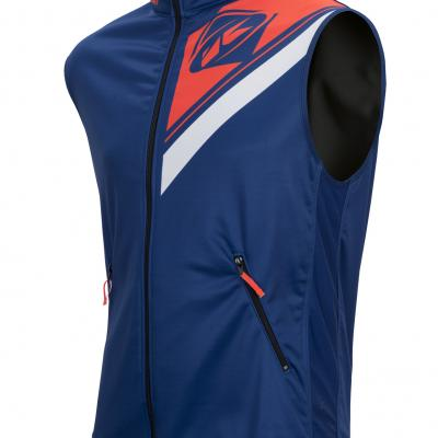 Body Warmer Enduro Kenny Navy / Orange Fluo