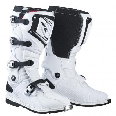 Bottes  Motocross Kenny Titanium Blanc 2018
