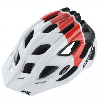 Casque Vélo Kenny K2 Blanc / Rouge / Noir