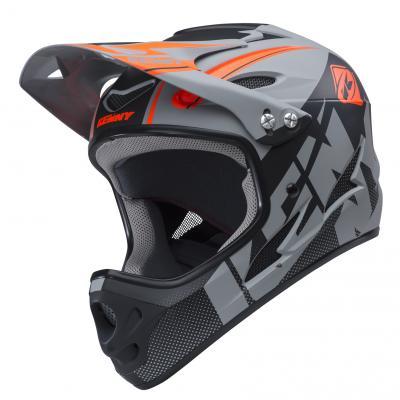 Casque Intégral Kenny VTT Downhill Gris/noir 2018