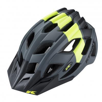 Casque Vélo Kenny K2 Gris/Jaune