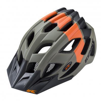 Casque Vélo Kenny K2 Kaki / Orange
