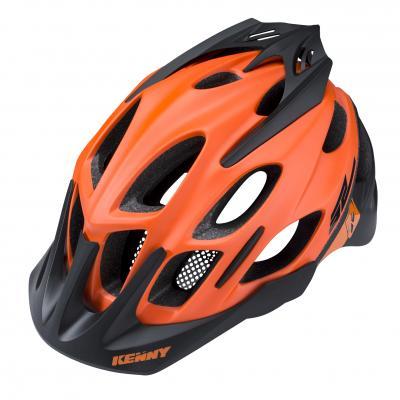 Casque Vélo Kenny Enduro S2 Orange Fluo