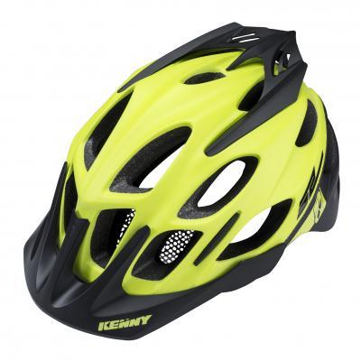 Casque Vélo Kenny Enduro S2 Jaune Fluo