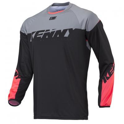 Maillot Kenny BMX Elite Black / Coral