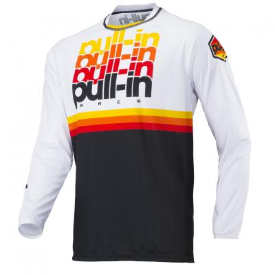 Maillot Pull-In BMX Race 1 White - Black