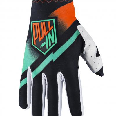 Gants motocross enfants Pull-In Challenger black