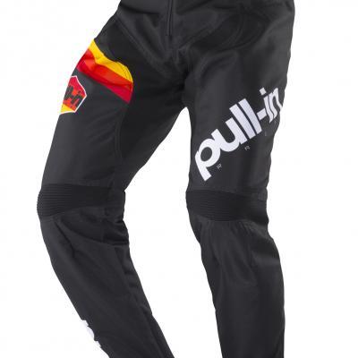 Pantalon Pull-In BMX Race 1 White - Black