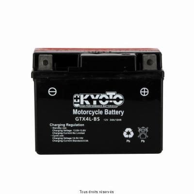 Batterie avec acide KYOTO 713045