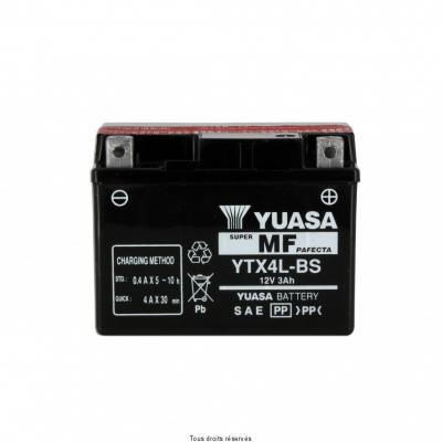 Batterie avec acide YUASA Ytx4l-bs