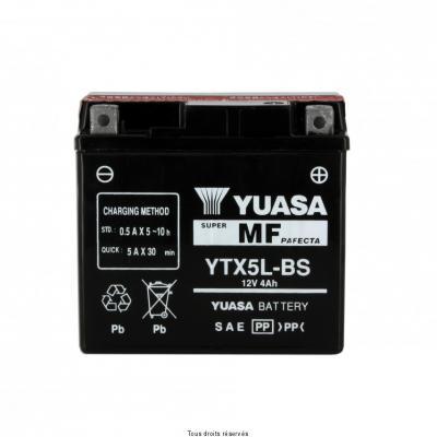 Batterie avec acide YUASA Ytx5l-bs