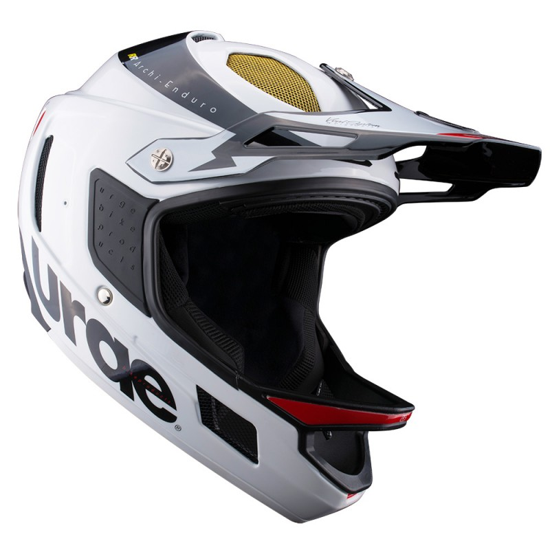 casque int gral vtt urge archi enduro rr blanc noir. Black Bedroom Furniture Sets. Home Design Ideas