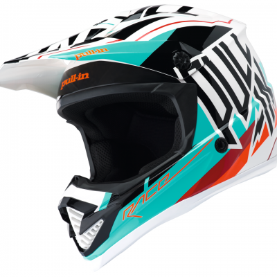 Casque  Motocross Pull-In Aqua 2018