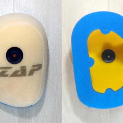 Admission: Filtre à air ZAP Technix Honda CRF 250 2004 à 2009 et CRF 450 2003 à 2008