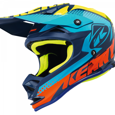 Casque Kenny Motocross Performance Cyan 2018