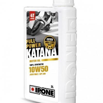 Moteur: HUILE MOTEUR 4T 10W50 100% synthèse Katana IPONE 2L