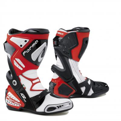 Bottes Route Forma Ice Pro Rouge