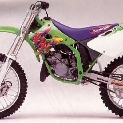 Kawasaki 125 kx 1994 1995 1996 1997 1998
