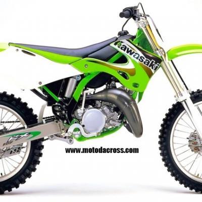 Kawasaki 125 kx 1999 2000 2001 2002