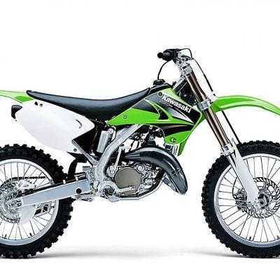 Kawasaki kx125 2003 2004 2005 2006 2007 2008