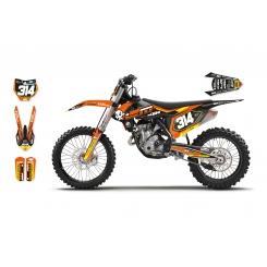 Déco: Kit Déco KTM 2D Replica Alix