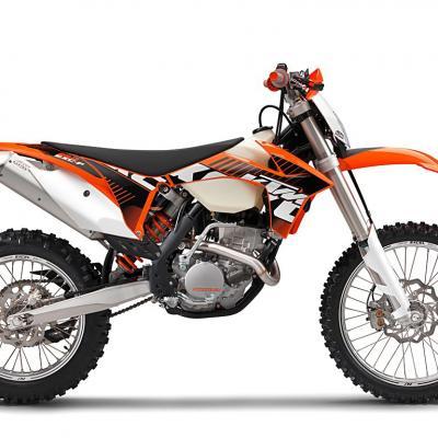 Ktm 250 350 400 450 exc f 2012 2013