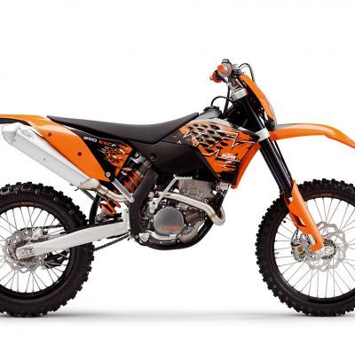 Ktm 250 400 450 exc f 2008 2009 2010 2011