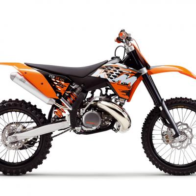 Ktm 250 sx 2007 2008 2009 2010