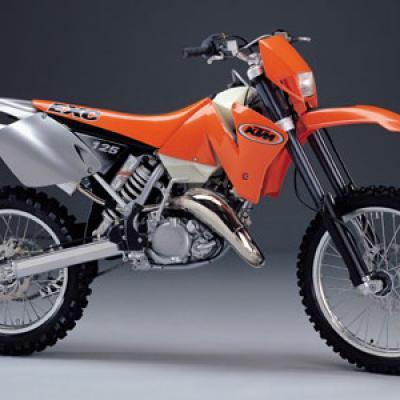 Ktm exe 125 2000 2001 2002 2004