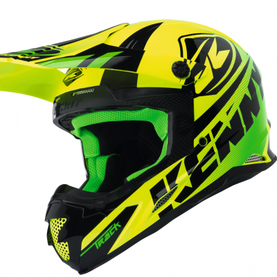 Casque Kenny Motocross Track Lime 2018