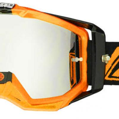 Lunettes / Masque JUST1 IRIS CARBONE ORANGE FLUO