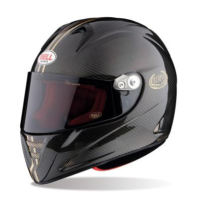 Casque Route Bell M5X Daytona Carbon Gold