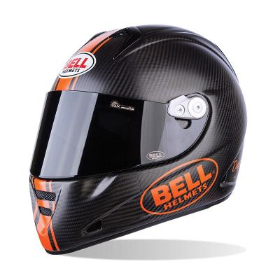 Casque Route Bell M5X Daytona matte Carbon Orange