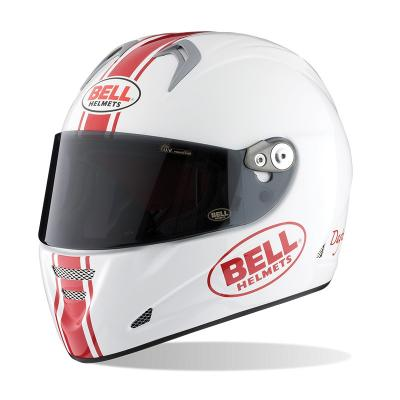 Casque Route Bell M5X Daytona White Red