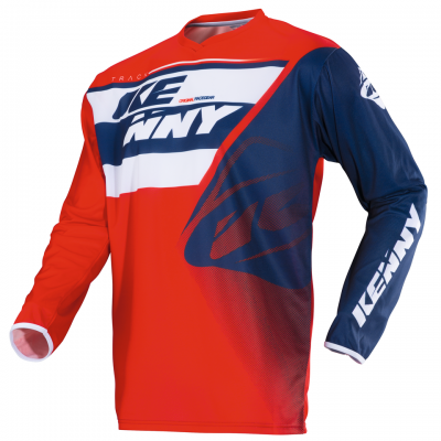 Maillot Kenny Track Bleu / Blanc / Rouge