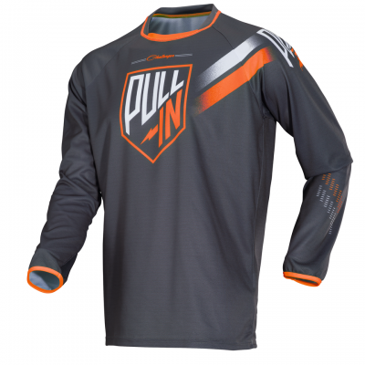 Maillot  Pull-In Challenger Grey / Orange 2018