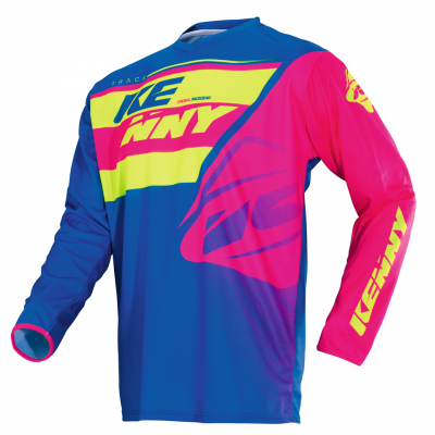 Maillot Kenny Track Lime / Pink 2018