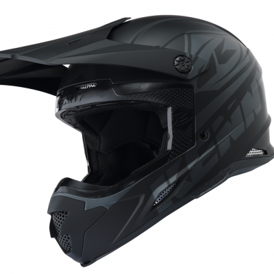 Casque Kenny Motocross Track Matt Black 2018