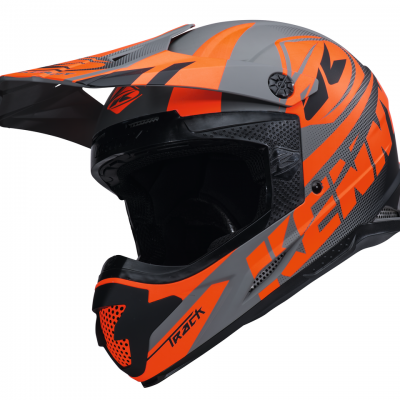 Casque Kenny Motocross Track Matt Grey 2018