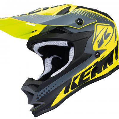 Casque Motocross enfant Kenny Performance Matt Neon / Yellow 2018