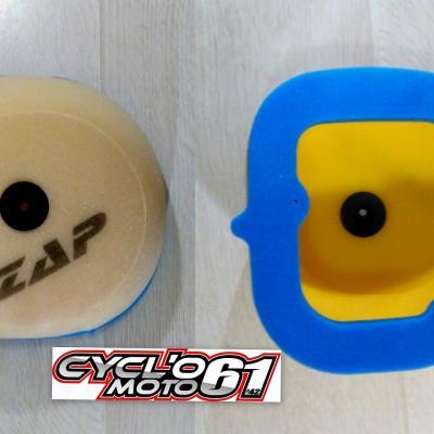 Admission: Filtre à air ZAP Technix KTM SX+F 2007 à 2010 et EXC+F 2008 à 2011