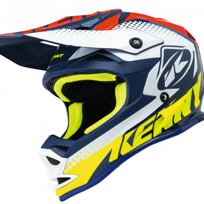 Casque Motocross enfant Kenny Performance Navy / Red 2018
