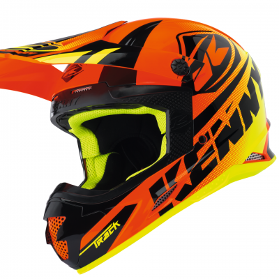 Casque Kenny Motocross Track Neon Orange 2018