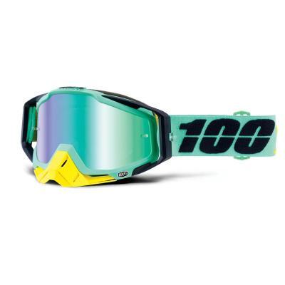 Racecraft kloog mirror green lens