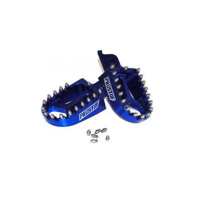 Accessoire: Repose pieds Motocross Alu Prostuf Bleu Yamaha / Gas Gas